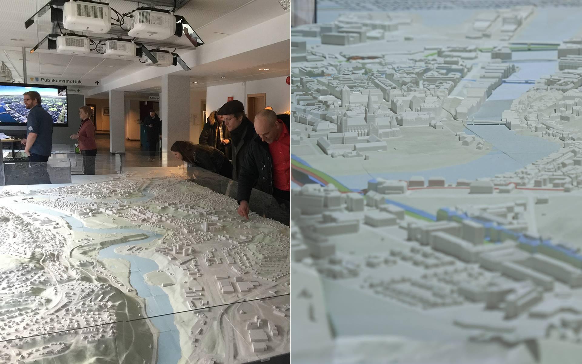 3D model of Trondheim